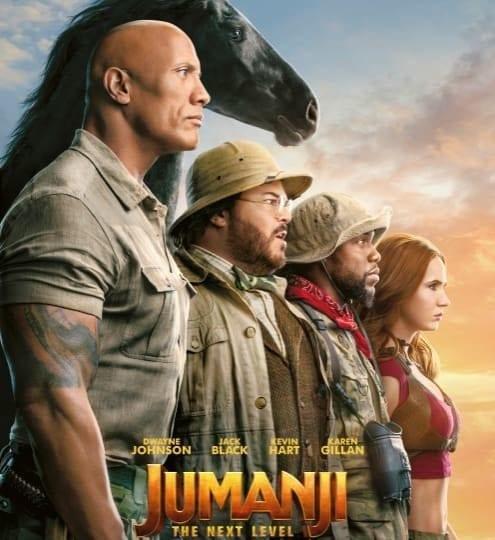 Demnächst im Kino: JUMANJI: THE NEXT LEVEL