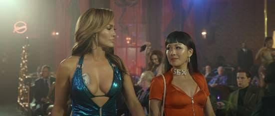 Hustlers Poster mit Jennifer Lopez