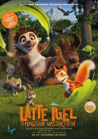 Poster Latte und Igel