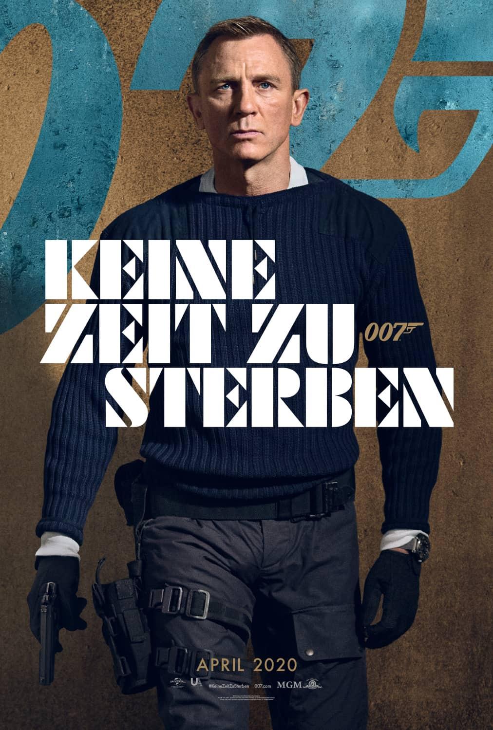 JAMES BOND 007 - KEINE ZEIT ZU STERBEN: Der erste spektakuläre Trailer ist online!