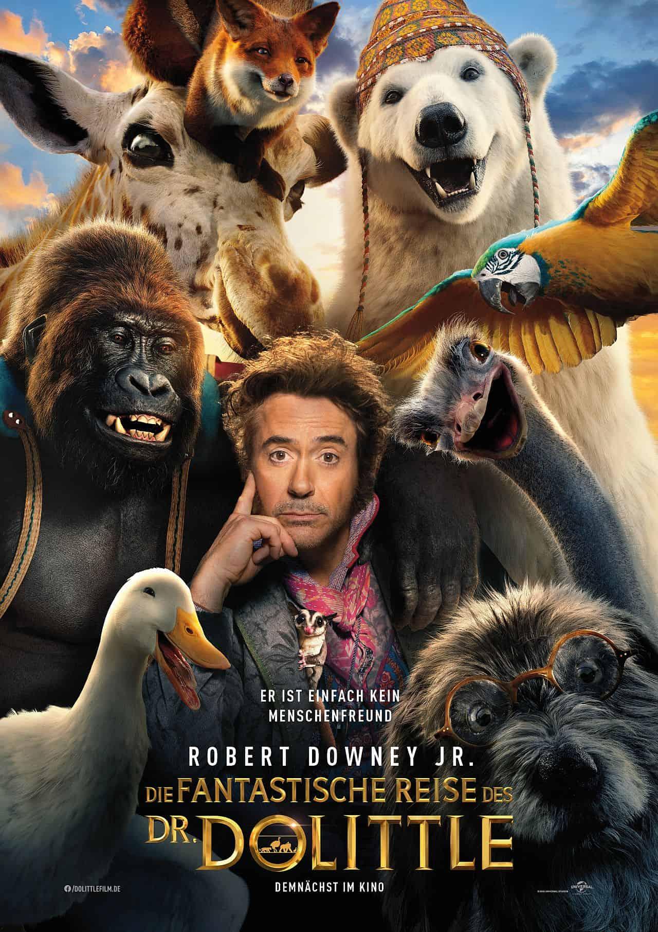 Filmkritik: Die Fantastische Reise des Dr. Dolittle