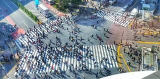 Shibuya Crossing Sie ist wohl eine der berühmtesten Kreuzungen der Welt und tauchte immer wieder in Film und Fernsehen als beliebte Location auf: Shibuya Crossing. Kein Wunder also, dass auch WEATHERING WITH YOU nicht ohne die Querstraße auskommt.  Koordinaten: http://bit.ly/2NwjYmj