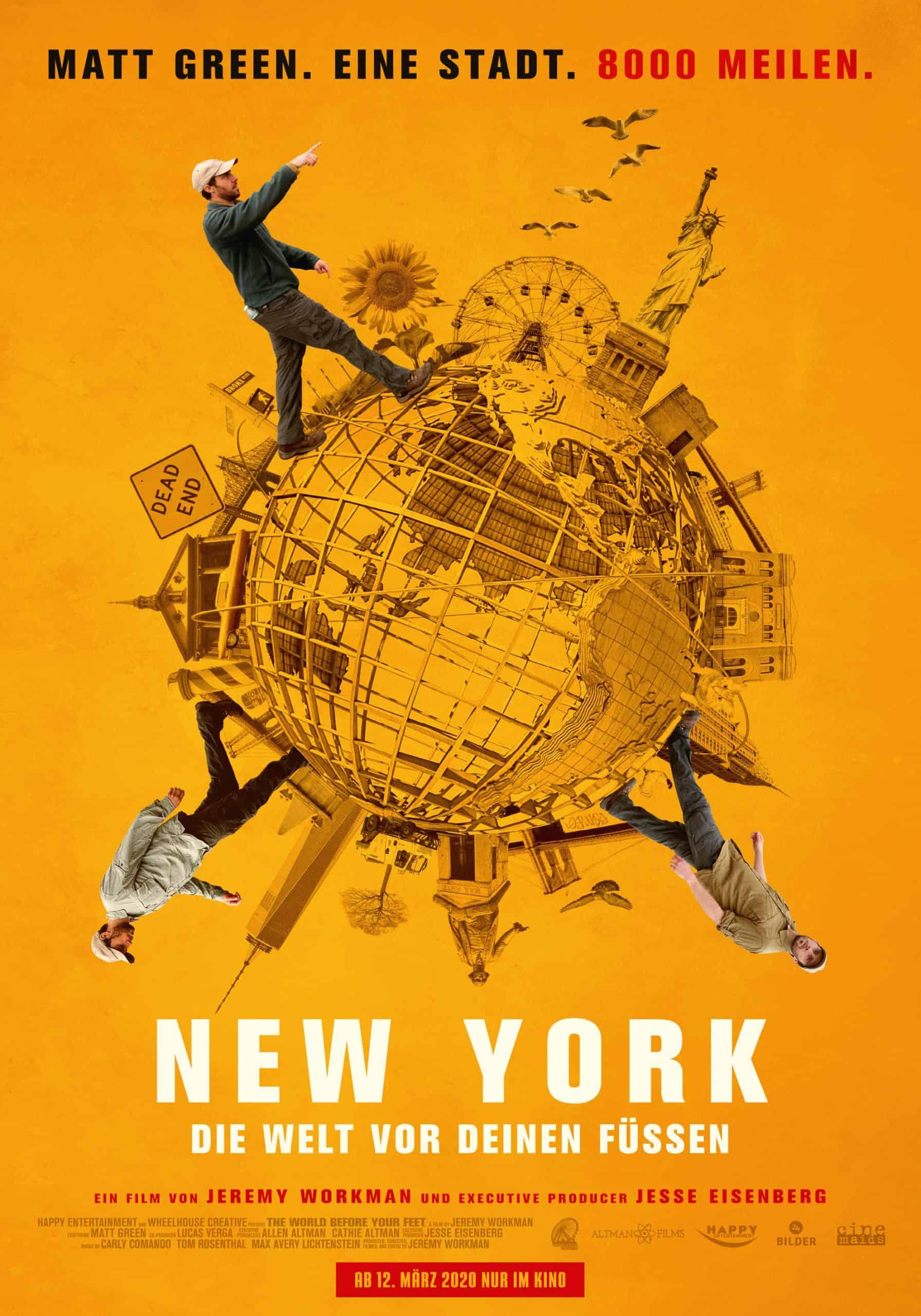 New York: Die Welt vor deinen Füßen mit Stadt-Walker Matt Green