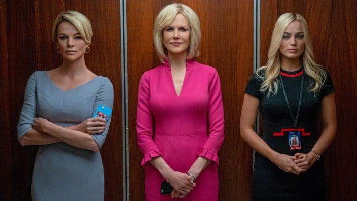 Drei Frauen im Kampf der Geschlechter. ( v.Li.n.re: Charlize Theron, Nicole Kidman, Margot Robbie )©Constantin Film