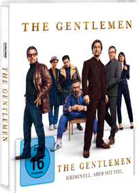 """The Gentlemen"" | Ab 10. Juli 2020 als DVD, Blu-ray, limitiertes Blu-ray-Steelbook, 4K Ultra HD Blu-ray"
