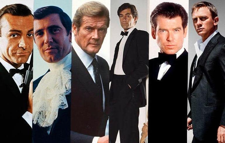 """""""James Bond""""   Sieben Filme um Bond zu kennen  """