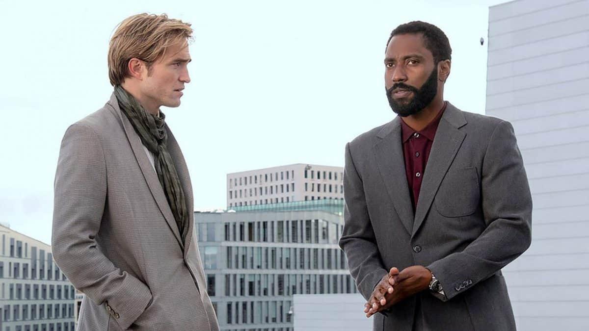 Robart Pattinson und John David Washington im neuen Film von Christopher Nolan Tenet
