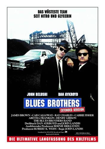 """Blues Brothers"" Extended Version   Am 22. Juli  Exklusiv im Kino"