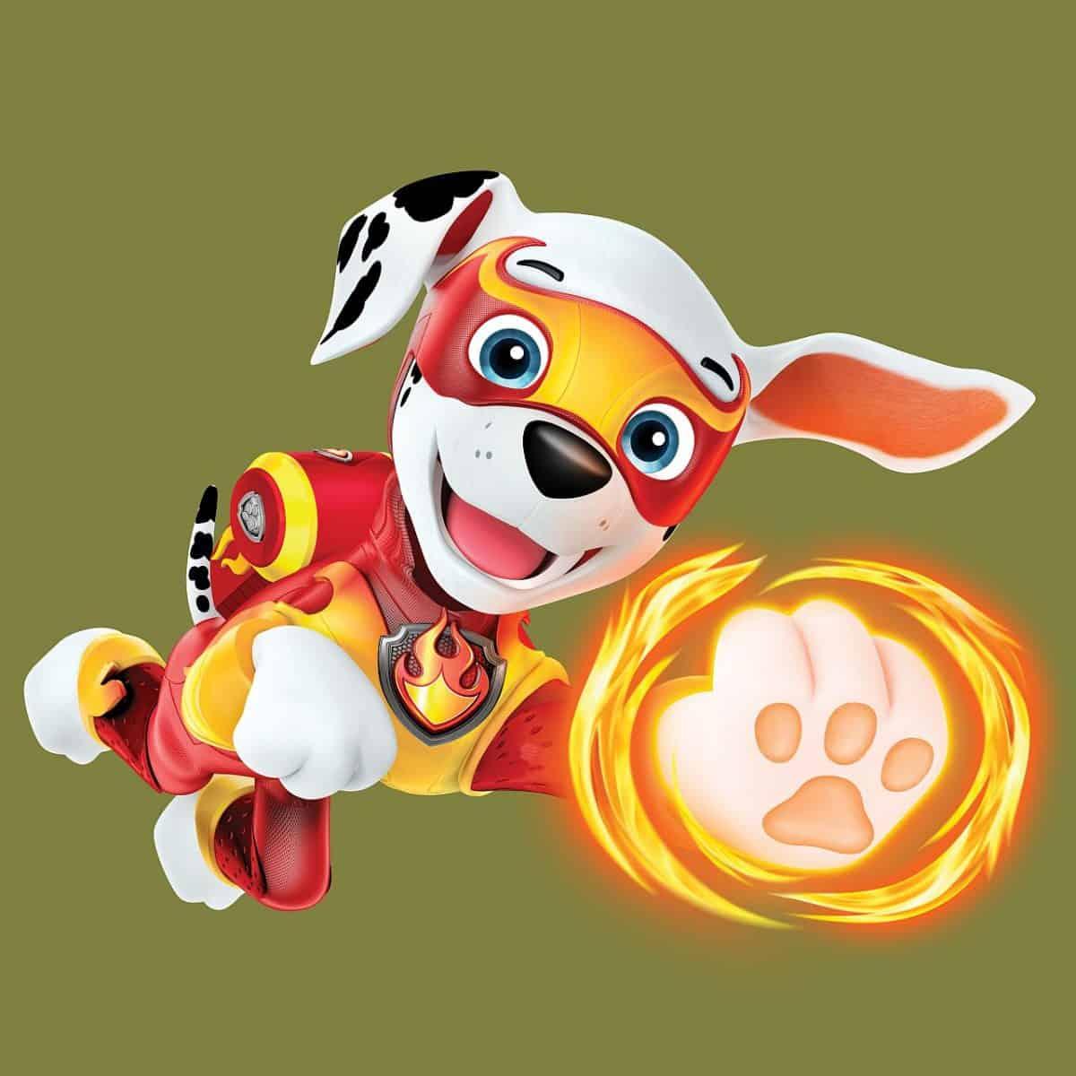 Marshall, ein etwas tollpatschiger Dalmatiner, der leicht zu begeistern ist. © Paramount Pictures