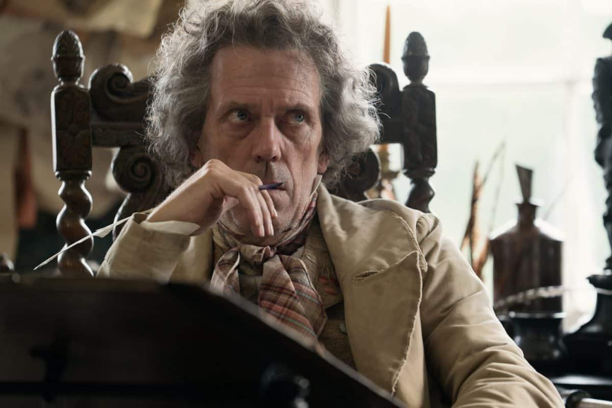 Mr. Dick (Hugh Laurie) hat Schwierigkeiten, seine Gedanken zu sortieren.