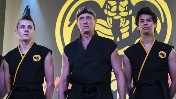Cobra Kai mit Johnny und Daniel LaRusso