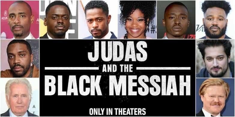 Filmplakat zum Cast von Judas and the Black Messiah
