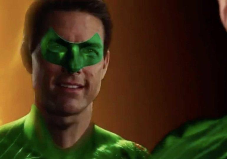 Tom Cruise als Green Lantern im Reynold's Spoof - Cut