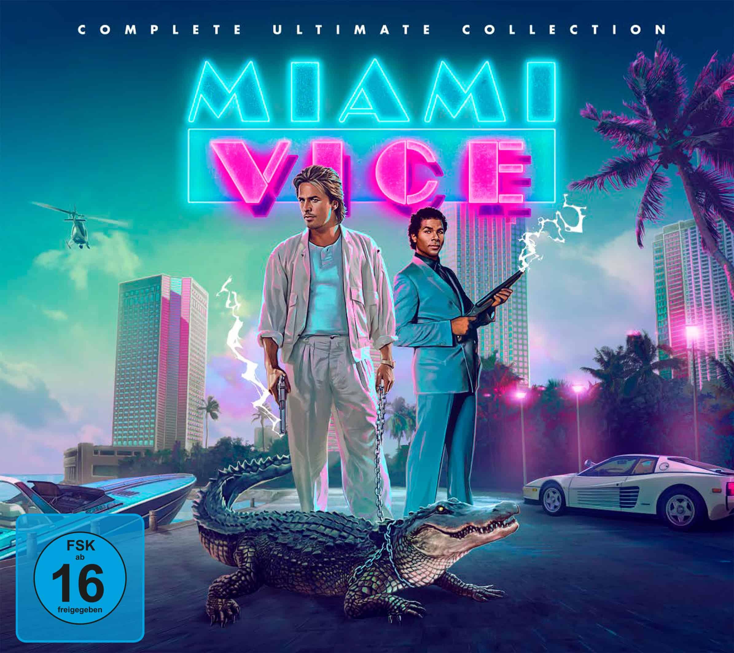Miami Vice | Die komplette Serie auf Blu-ray
