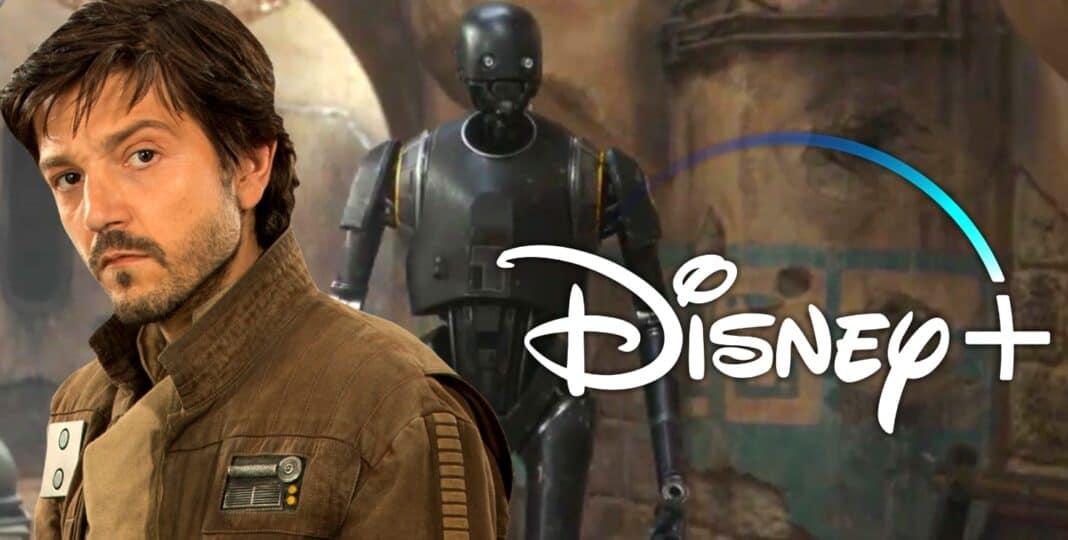 Diyney+ Captain Cassian Andor ( Diego Luna ) bekommt eine eigene Spin Off Serie