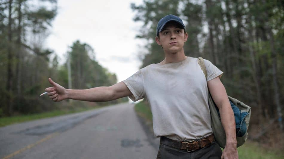 The Devil All The Time mit Tom Holland