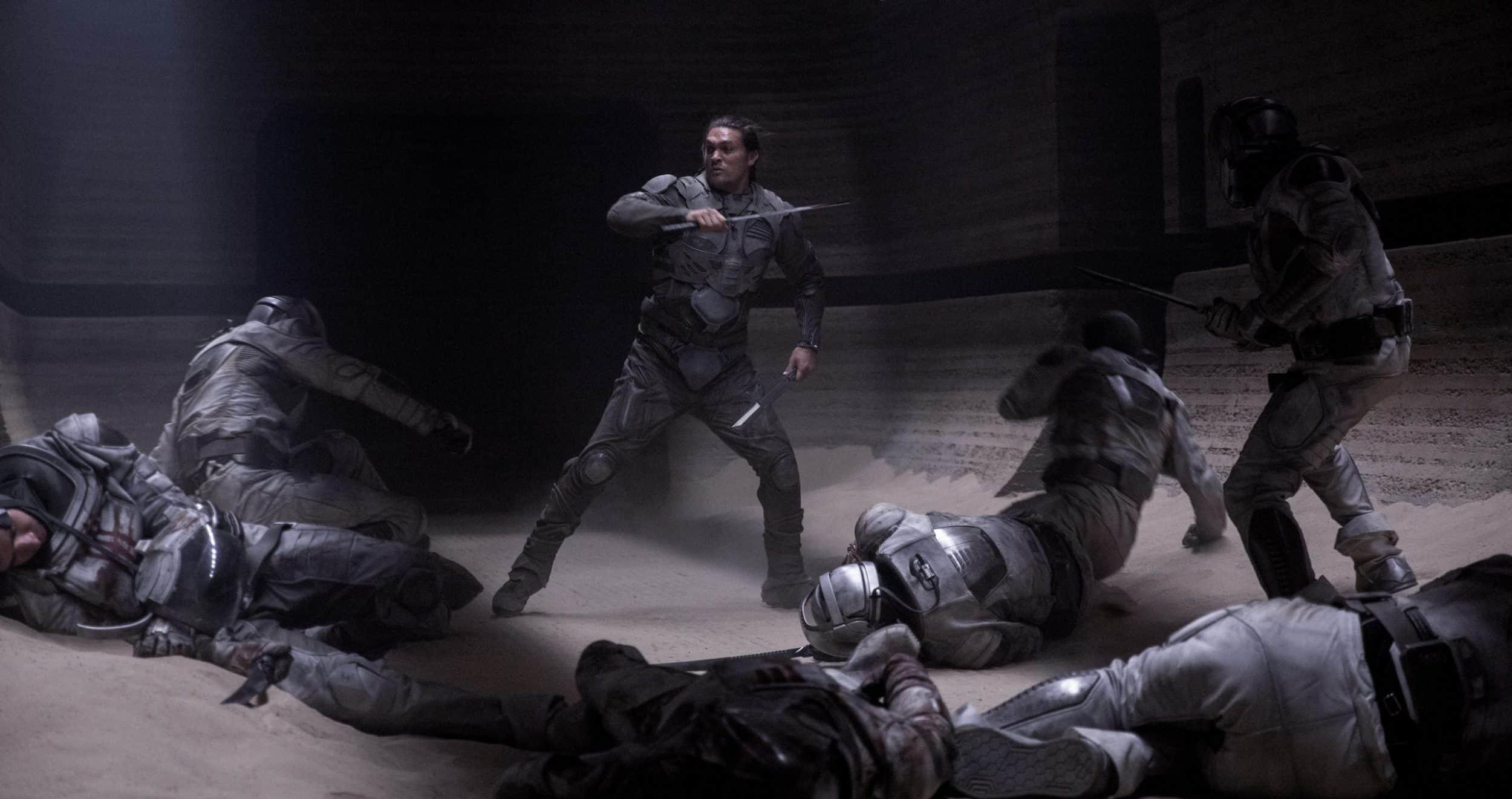 Jason Momoa in Dune als Duncan Idaho