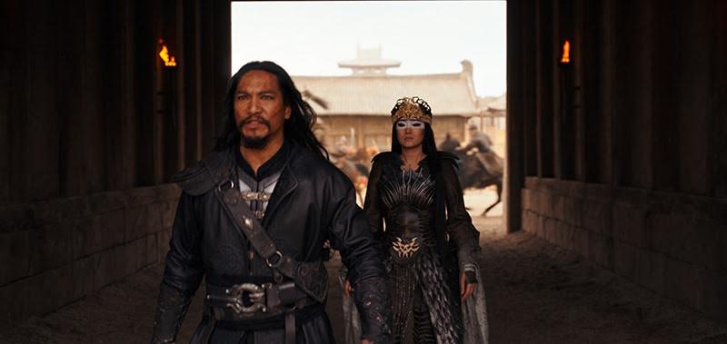 Jason Scott Lee in Mulan