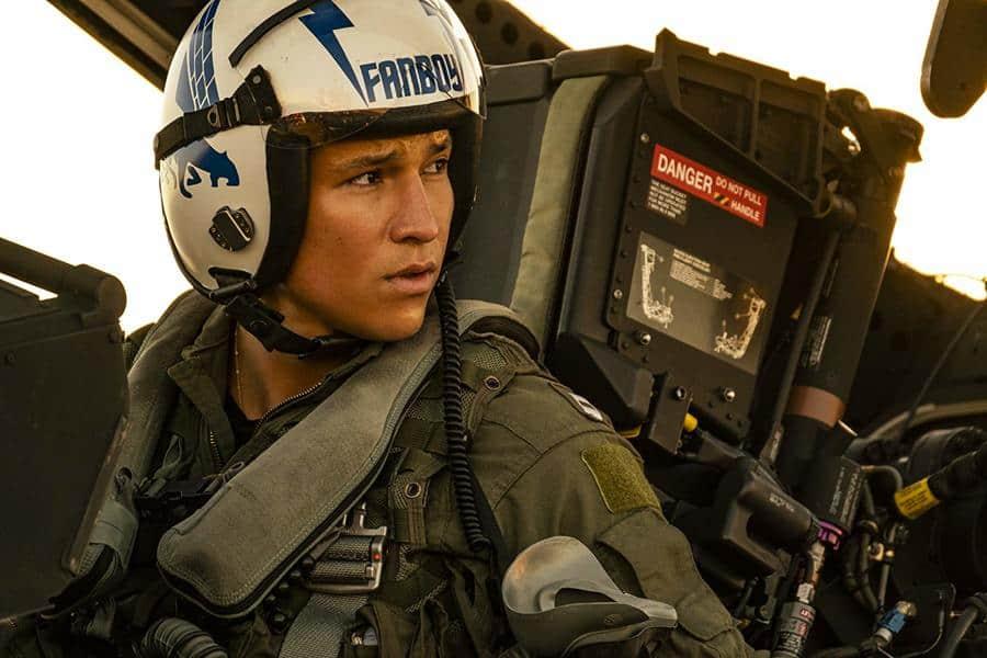 Danny Ramirez in Top Gun