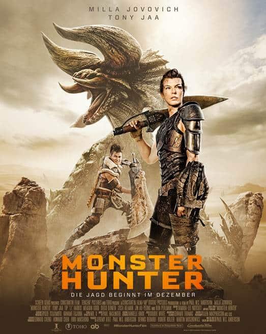 Monster Hunter | Zwei Bombast Trailer Online