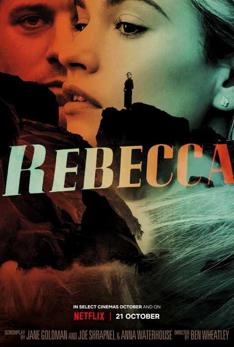 Poster Art Work zum Remake von Hitchcooks Rebecca, der bei Netflix starten wird.