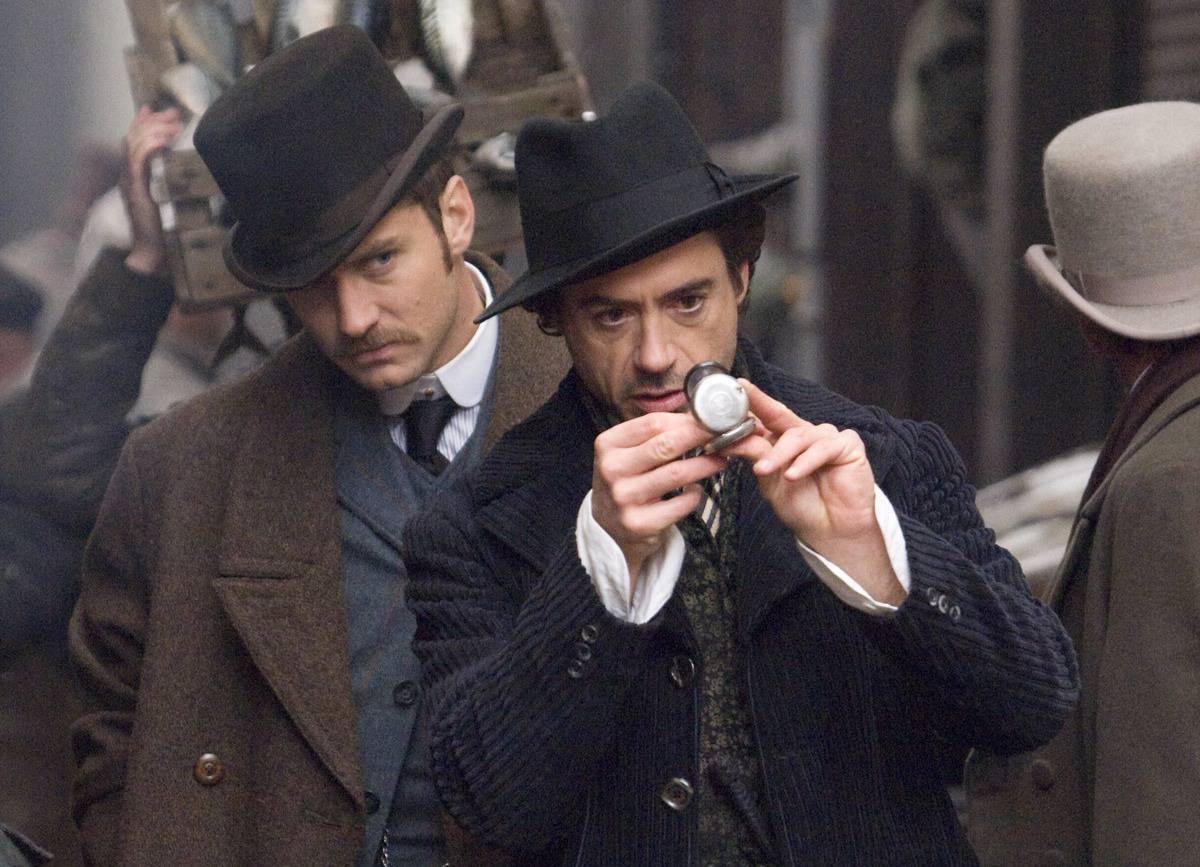 Robert Downey Jr. plant Sherlock - Universum