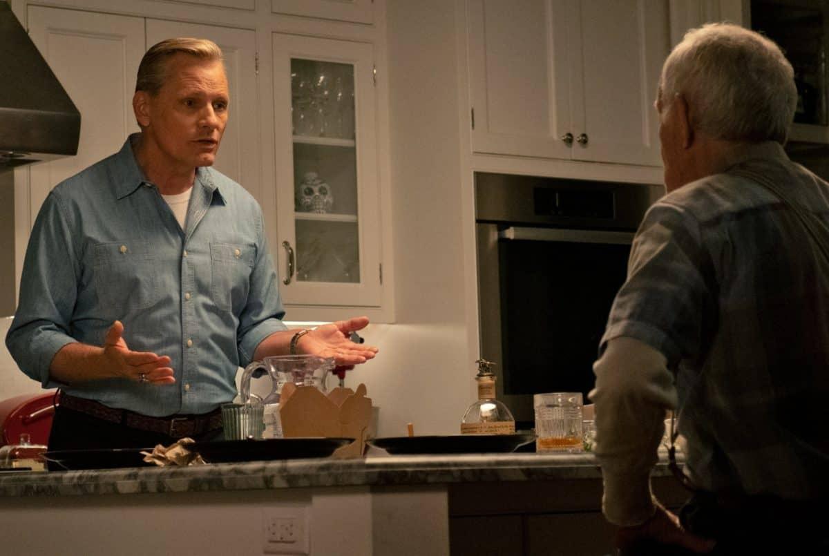 Lance Henriksen und Viggo Mortensen (l.) als Vater-und-Sohn Duo Willis und John in Viggo Mortensens Regiedebüt FALLING.