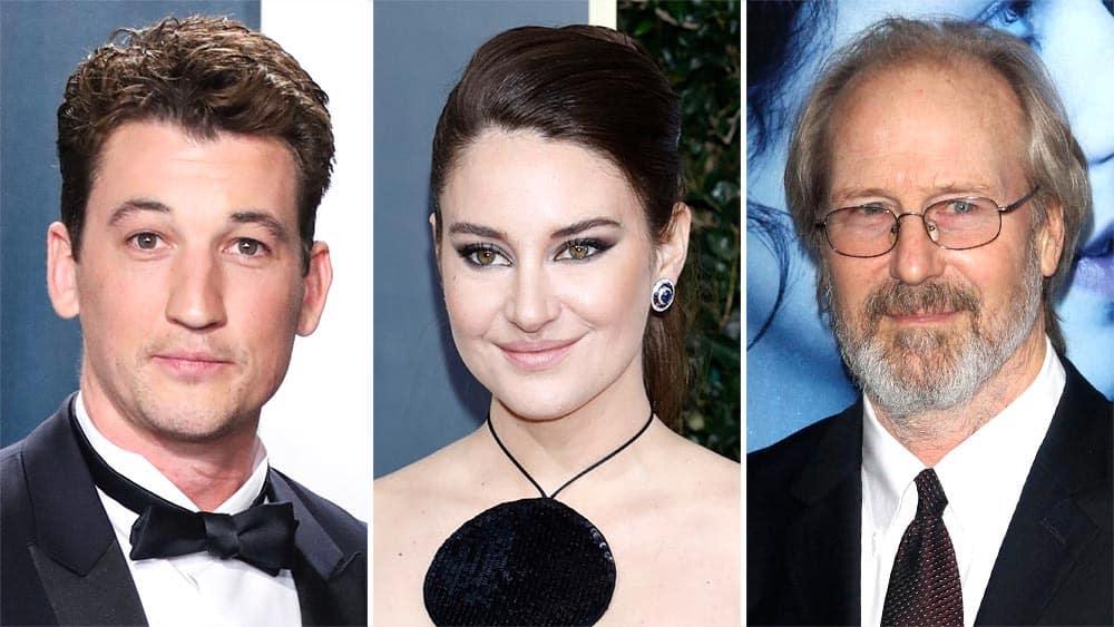 Miles Teller, Shailene Woodley und William Hurt Bildrechte: Deadline