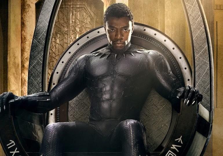 Neues Black Panther Intro Für Chadwick Boseman