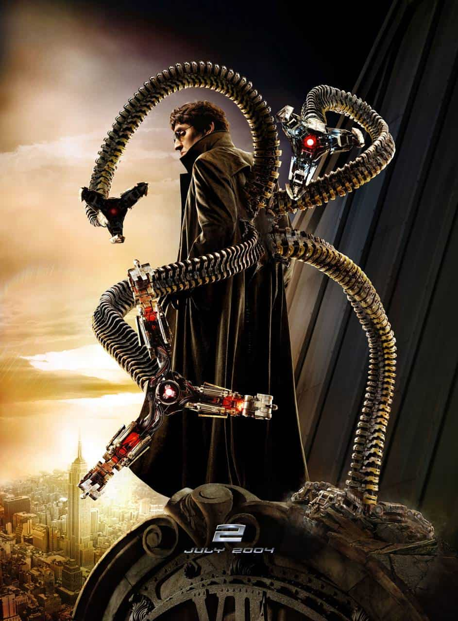 Alfred Molina in Spider Man 3 erneut Doc Octopus