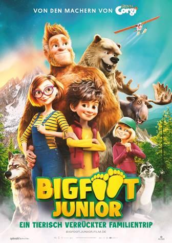 Bigfoot Junior | Ein tierischer Familientrip startet am 26. August in den deutschen Kinos