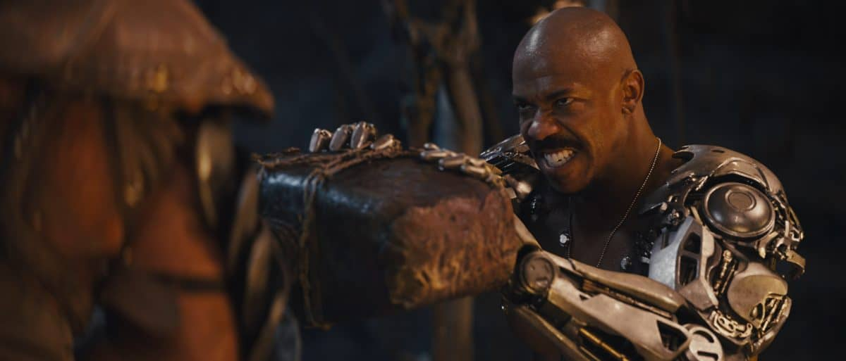 "MEHCAD BROOKS als Major Jackson ""Jax"" Briggs in Mortal Kombat"