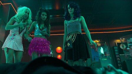 Die drei Frauen sind aus einem Bordell geflohen. Netflix Serie Sky Rojos