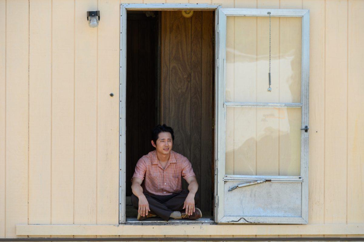 Familienvater Jacob (Steven Yeun) will in den wilden Ozarks in Arkansas einen Neustart mit seiner koreanisch-amerikanischen Familie wagen