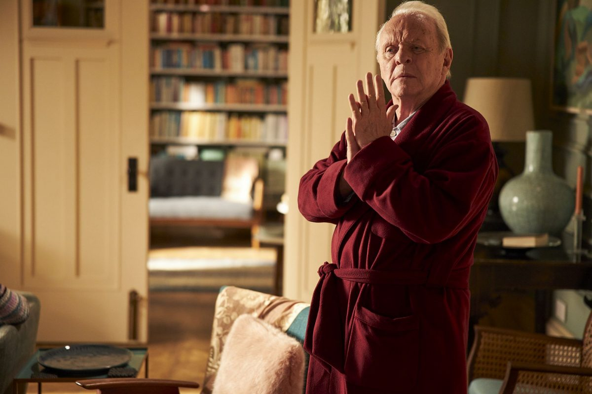 Anthony (Anthony Hopkins) in The Father