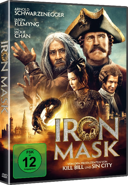 Iron Mask DvD Cover