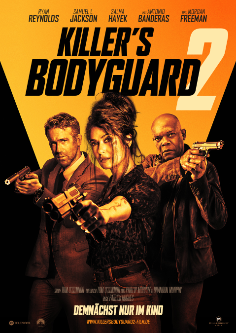 KILLER'S BODYGUARD 2  | Der neue Trailer zum heißesten Dreier des Kinosommers
