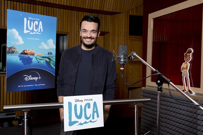 "Giovanni Zarrella spricht Ercole im Pixa Hit ""LUCA"" © The Walt Disney Company Germany"