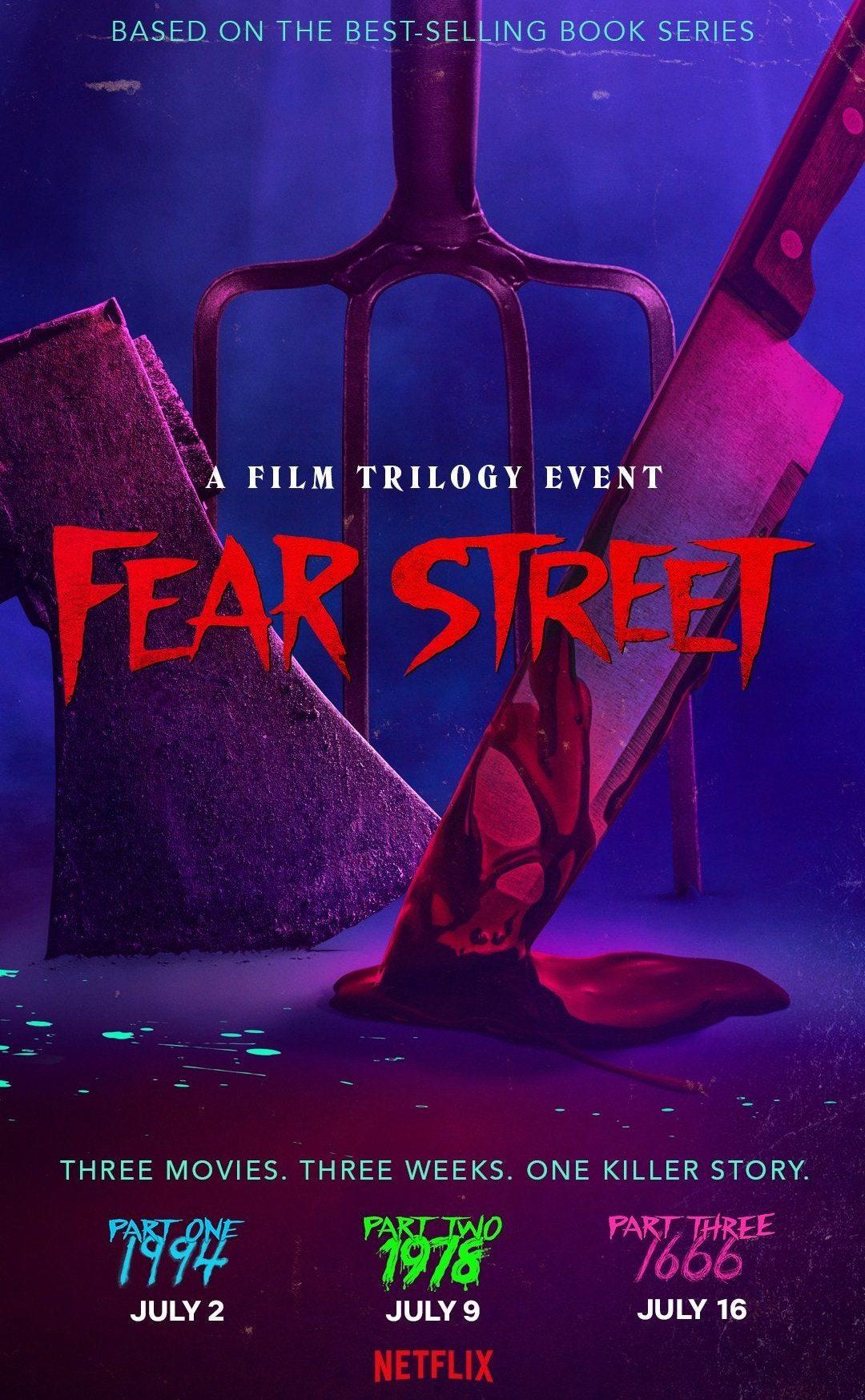 "Netflix's ""Fear Street Trilogy"" bringt diesen Sommer drei R-Rated Horror Filme"