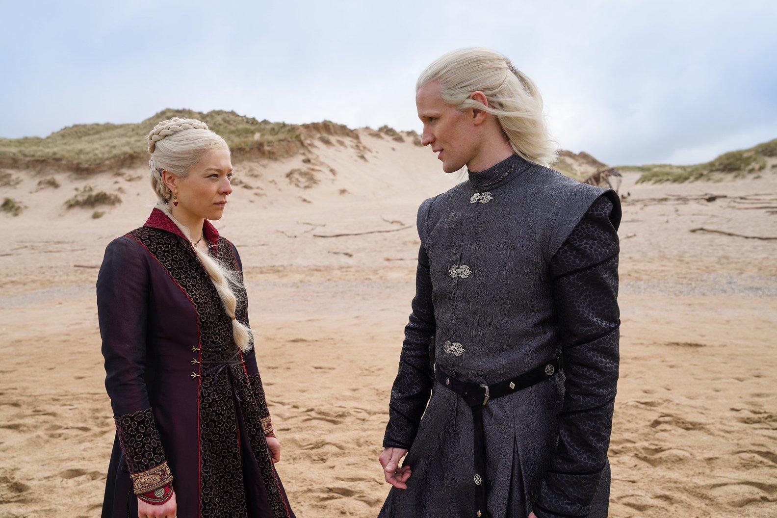 Targaryans am Strand von Westeros