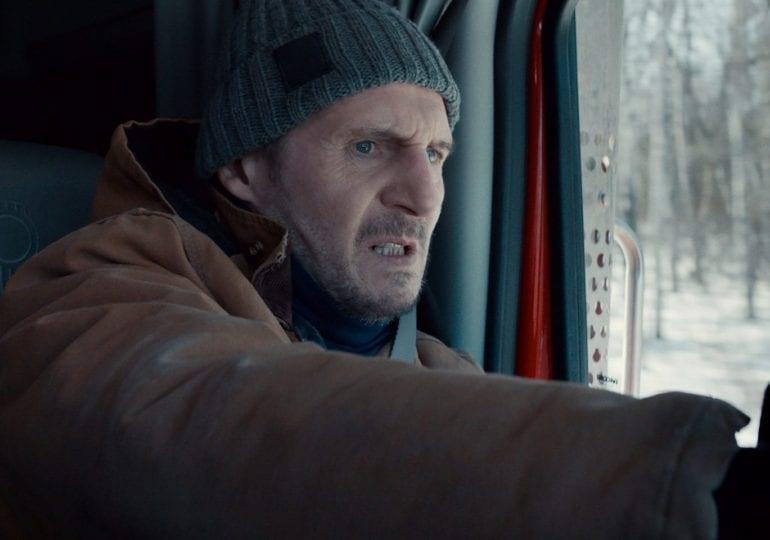 """LIAM NEESON ALS TRUCKER IM KOMMENDEN NETFLIX ACTION FILM """"THE ICE ROAD"""""""