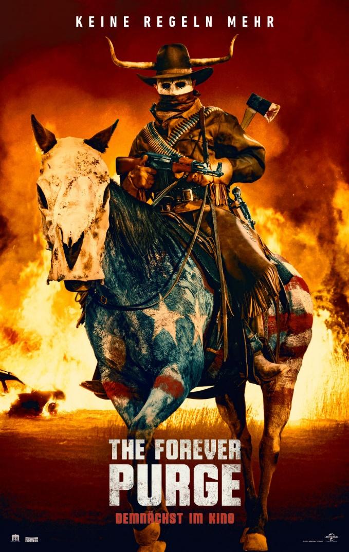 Dies ist kein Test! Wir verkünden die Veröffentlichung des ersten deutschen Trailers zu The Forever Purge