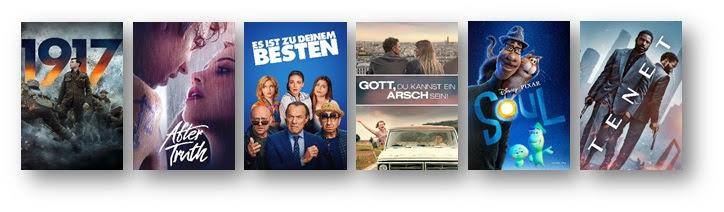 ÜBER 200 TOP FILME ZUM TOP PREIS - 16 PLATTFORMEN bei der Mega Movie Week