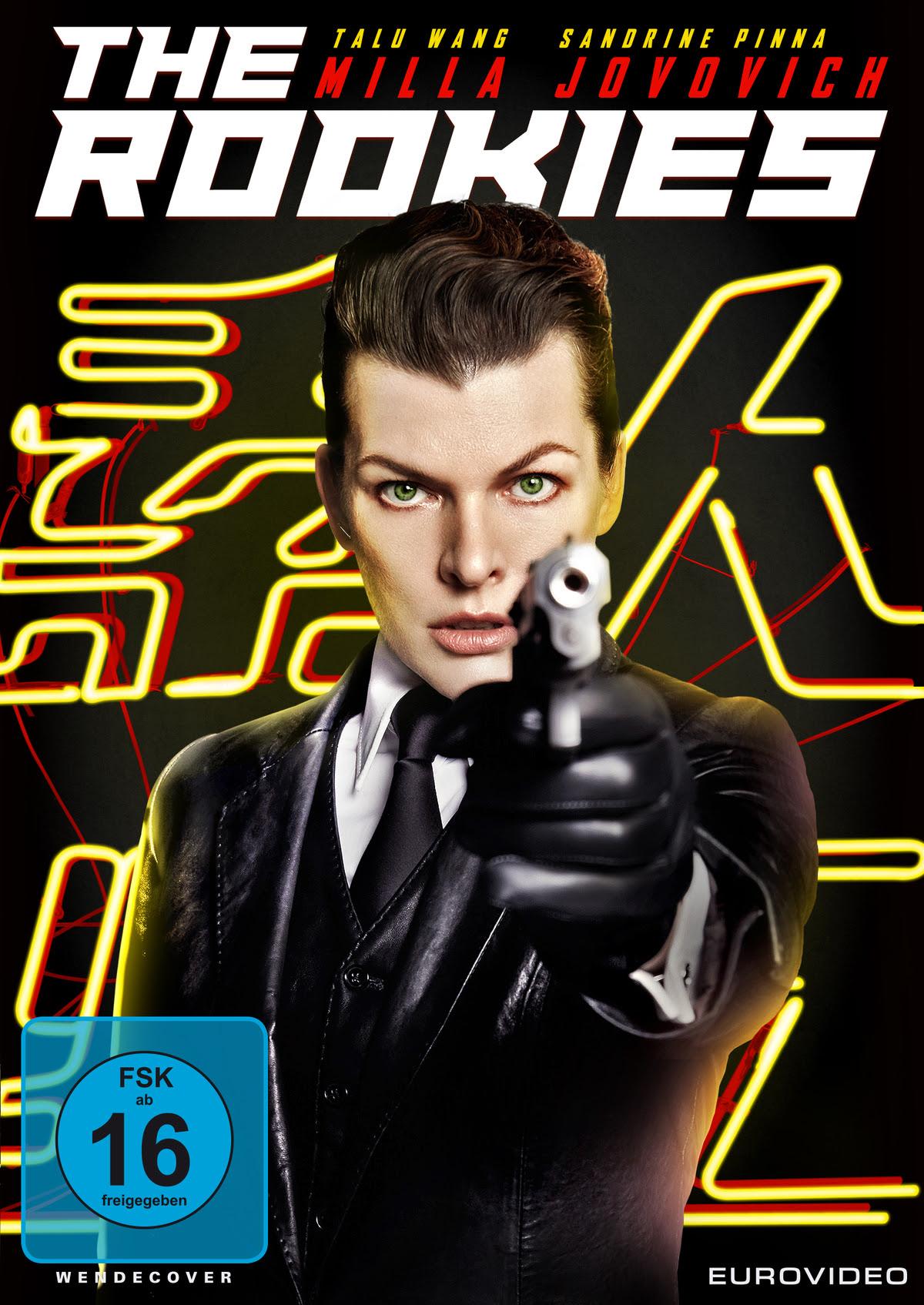 THE ROOKIES   Mit Milla Jovovich   Ab 22. Juli 2021 als DVD und Blu-ray erhältlich   Digital bereits ab 8. Juli 2021 verfügbar