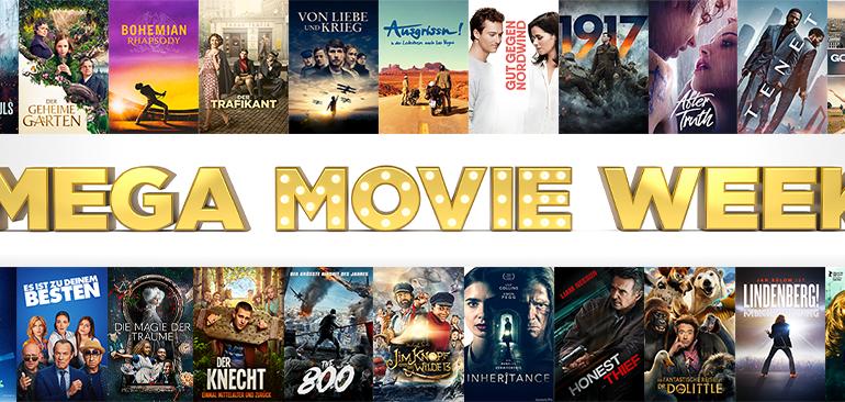 Mega Movie Week Mit Prämierten Film Highlights