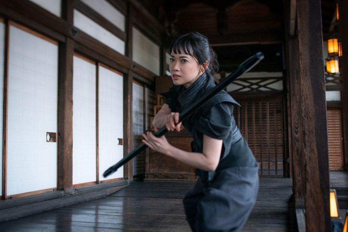Haruka Abe als Akiko in Snake Eyes: G.I. Joe Origins