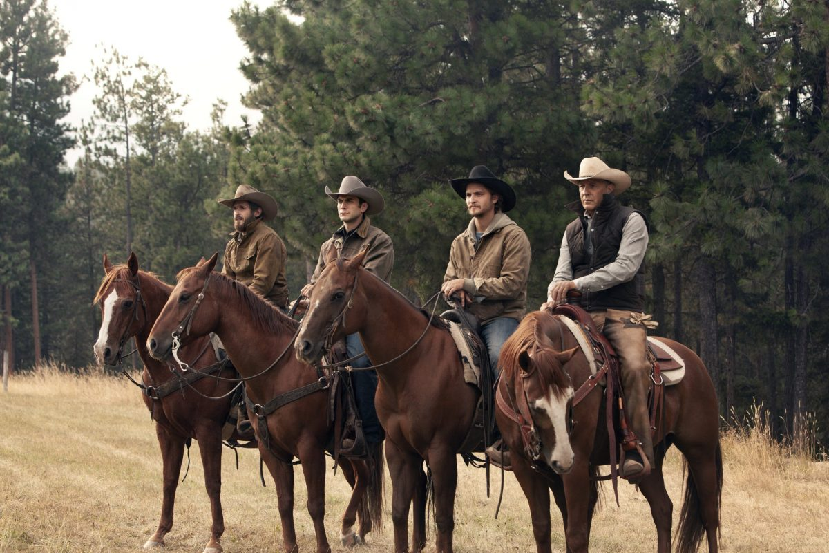 Yellowstone Serie mit Kevin Costner