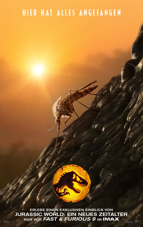 FAST & FURIOUS 9 bietet exklusiven Einblick in JURASSIC WORLD: EIN NEUES ZEITALTER im IMAX