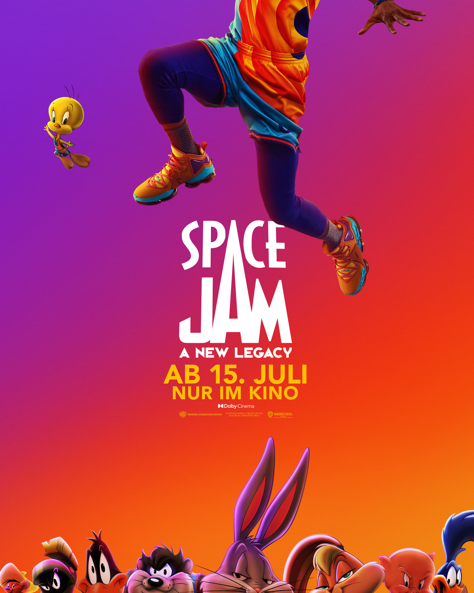 SPACE JAM: A NEW LEGACY | Palina Rojinski ist die deutsche Stimme von Lola Bunny