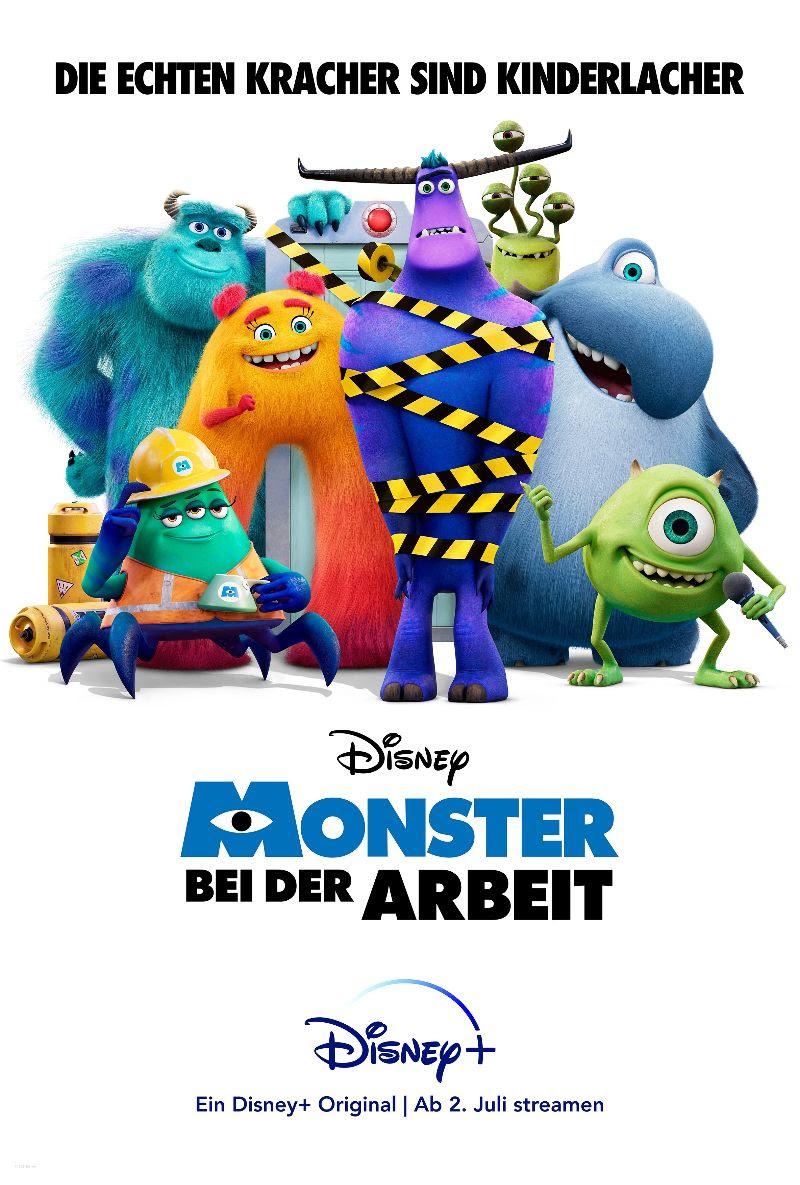 """Der Trailer zum Disney+ Original """"Monster bei der Arbeit"""" - Ab 7. Juli exklusiv auf Disney+"""